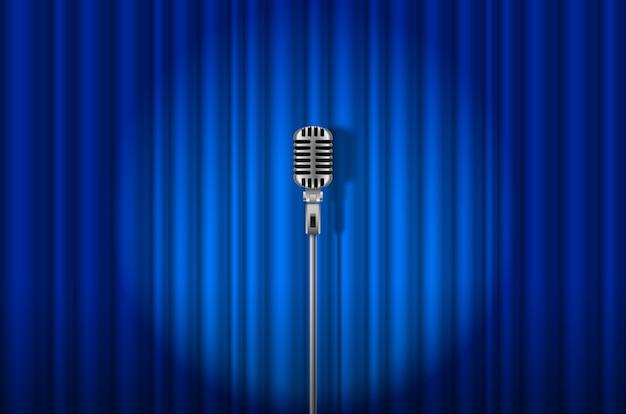 Microphone Vecteur Premium