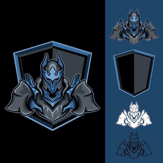Mighty Lord: Logo E-sport Gaming Vecteur Premium