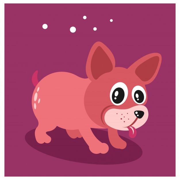 Mignon Petit Personnage De Dessin Animé Chihuahua Chien Chiot