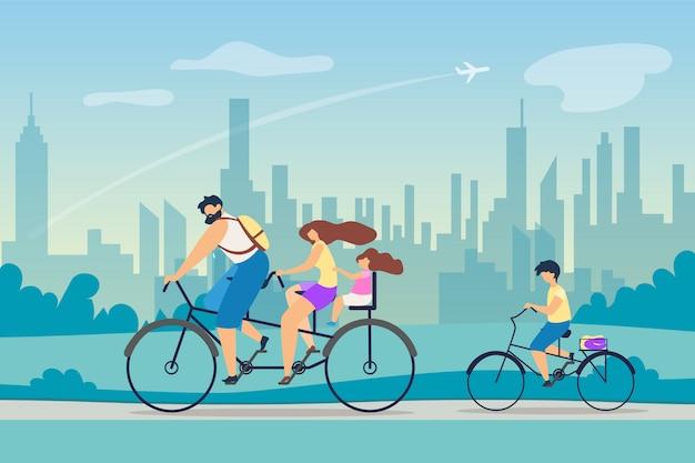 Mode de vie actif effet positif santé vector. Vecteur Premium