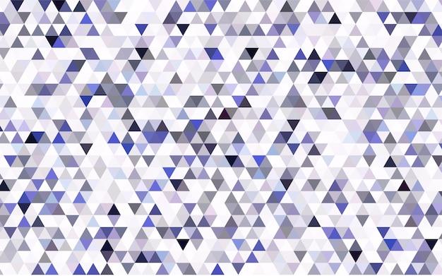 Modèle abstrait de polygone vectoriel léger bleu Vecteur Premium