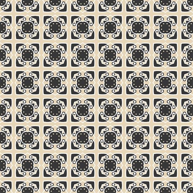 Modèle Abstrait Sans Soudure Vecteur Premium