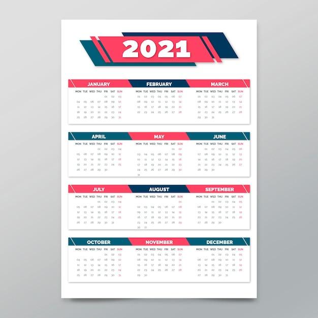 Modèle D'affiche Pour Le Nouvel An Vecteur gratuit