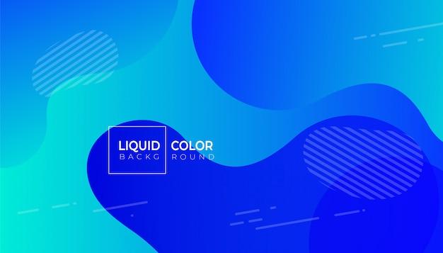 Modèle de bannière de vente d'ondes liquides en plastique Vecteur Premium