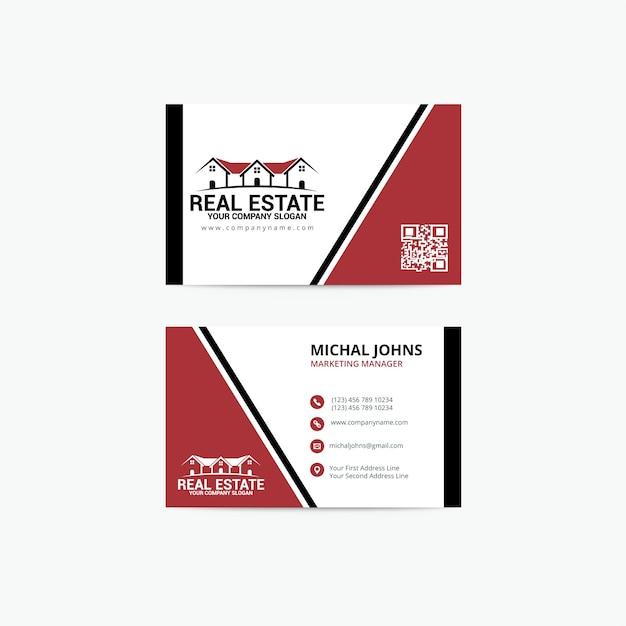 Modele De Carte Visite Immobilier
