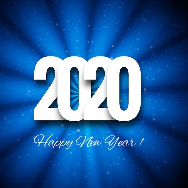 Modèle De Carte De Voeux De Beau Texte 2020 Nouvel An