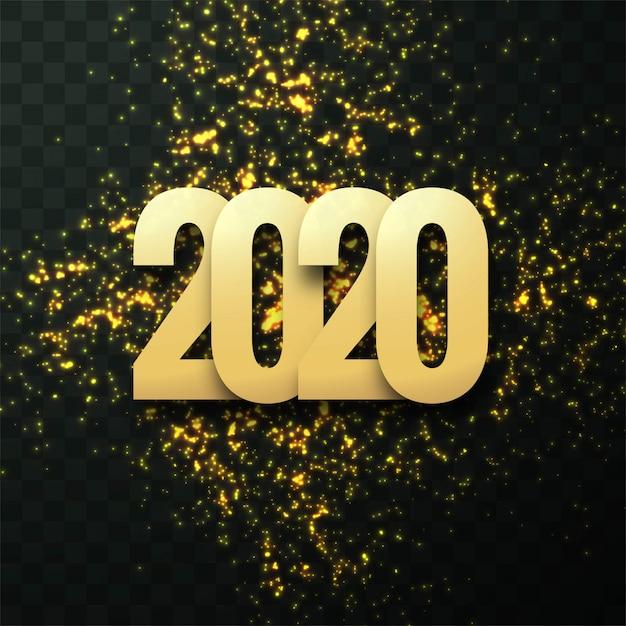 modele carte de voeux 2020 Modèle De Carte De Voeux Fantastique 2020 Texte Nouvel An