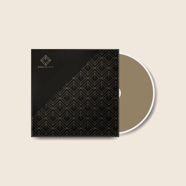 Modèle de conception de la couverture de cd d'entreprise Vecteur gratuit