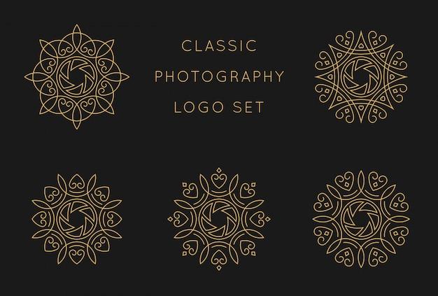 Modèle De Conception De Logo Classique Vecteur Premium