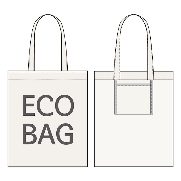 Vecteurs Mode Eco Des De Modèle Plat Croquis BagTélécharger 8m0vNnw
