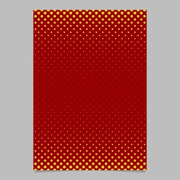 Mod le de brochure en forme de motif en demi teinte r tro for Fond affiche gratuit