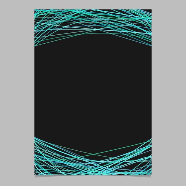 Mod le de page abstraite avec des lignes al atoires for Fond affiche gratuit
