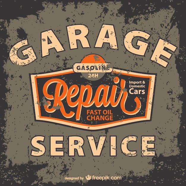 Mod le de vecteur de service automobile t l charger des for Garage libre service pour particulier