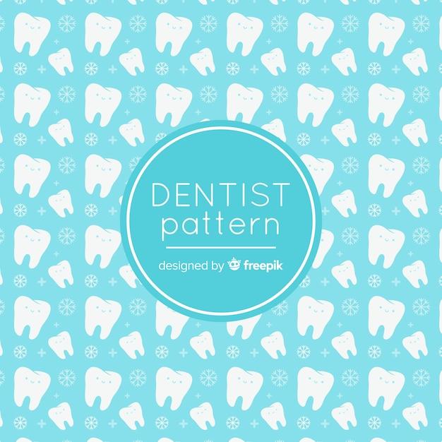 Modèle de dentiste Vecteur gratuit