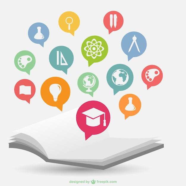 Modèle De L'école Infographie Vecteur gratuit