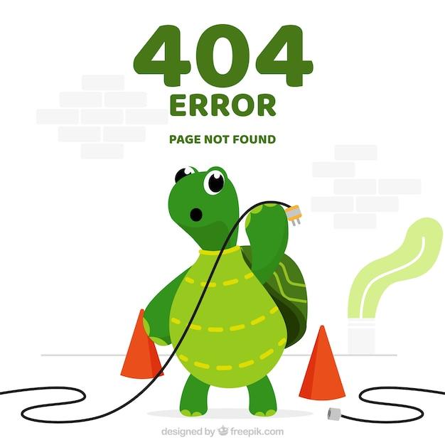 Modèle D'erreur 404 Dans Un Style Plat Vecteur gratuit