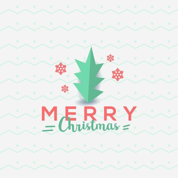 Modèle De Flyer Joyeux Noël Cartes De Voeux Typographie Vecteur Premium