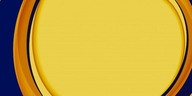 Modèle De Fond Abstrait Minimal. Forme Graphique D'affiche Géométrique De Modèle. Page De Destination Dégradée Numérique. Couverture De Vague Fluide Futuriste à Mouvement Dynamique Vecteur Premium