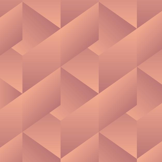 Modèle de géométrie abstraite - formes vectorielles en dégradé de couleur Vecteur Premium