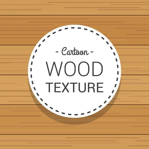 Modèle Léger De Texture En Bois Dessiné De Dessin Animé à La