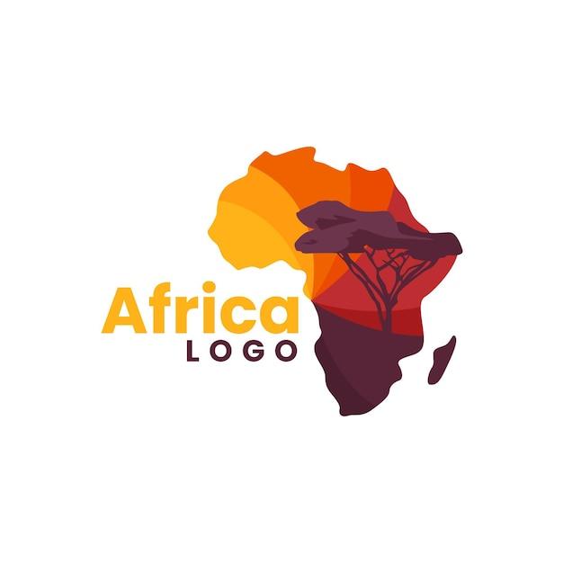 Modèle De Logo De Carte Afrique Vecteur gratuit
