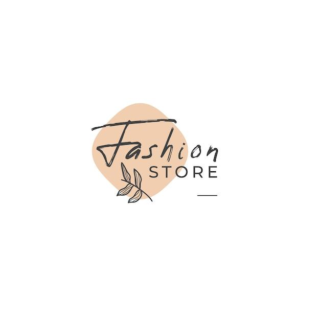 Modèle De Logo De Magasin De Mode Vecteur gratuit