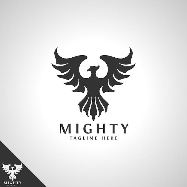 Modèle De Logo Mighty Bird Vecteur Premium