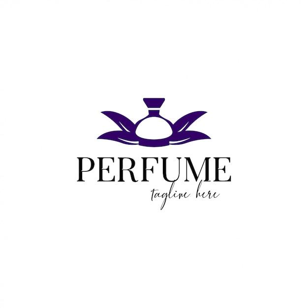 Modèle De Logo De Parfum Vecteur Premium