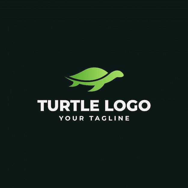 Modèle De Logo De Tortue Vecteur Premium
