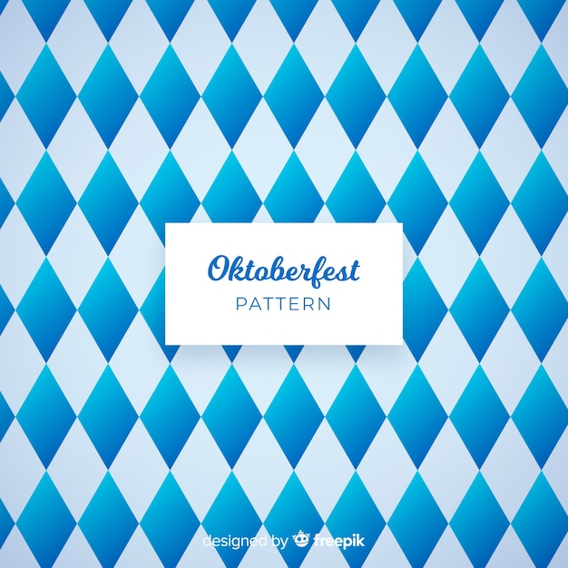 Modèle oktoberfest moderne Vecteur gratuit