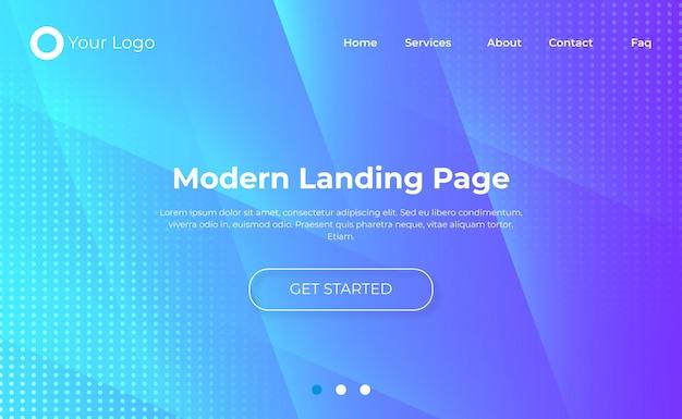Modèle de page d'accueil de site web   Télécharger des ...