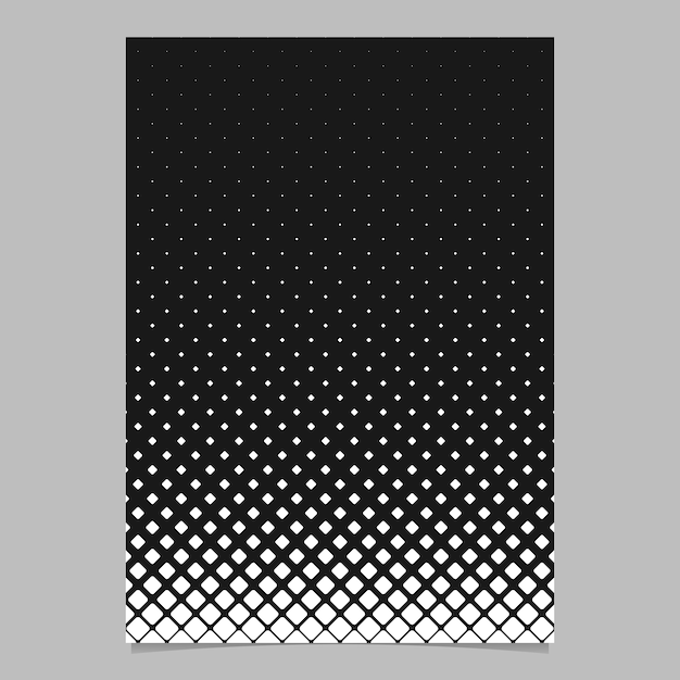 Modele De Page De Grille Quadrillee Diagonale Monochrome Abstraite