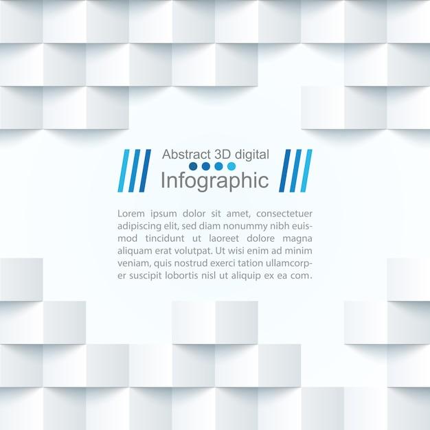 Modèle de papier abstrait Vecteur Premium
