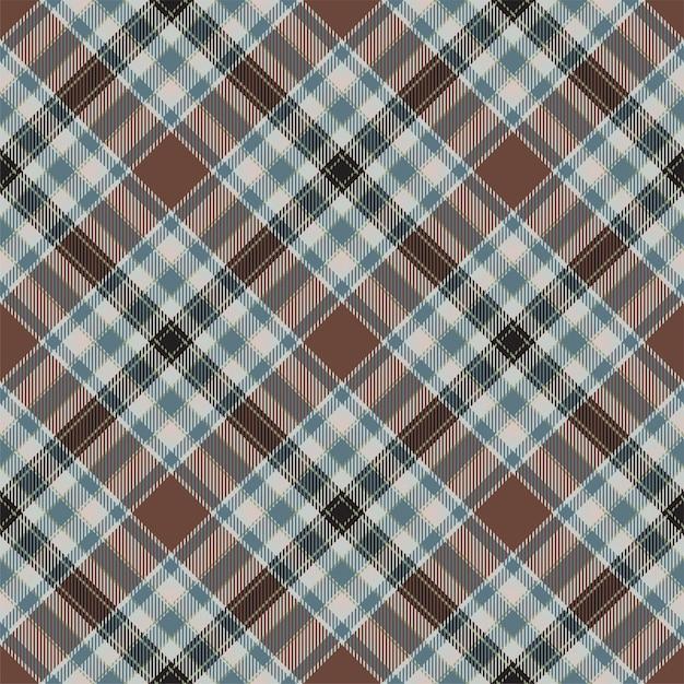Modèle De Plaid Sans Couture Ecosse Tartan. Tissu De Fond Rétro. Texture Géométrique Carré Couleur Check Vintage. Vecteur Premium