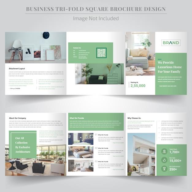 Modèle de publication de médias sociaux dans l'immobilier Vecteur Premium