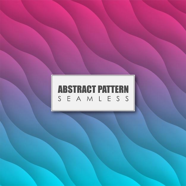Modèle sans couture abstrait coloré Vecteur Premium