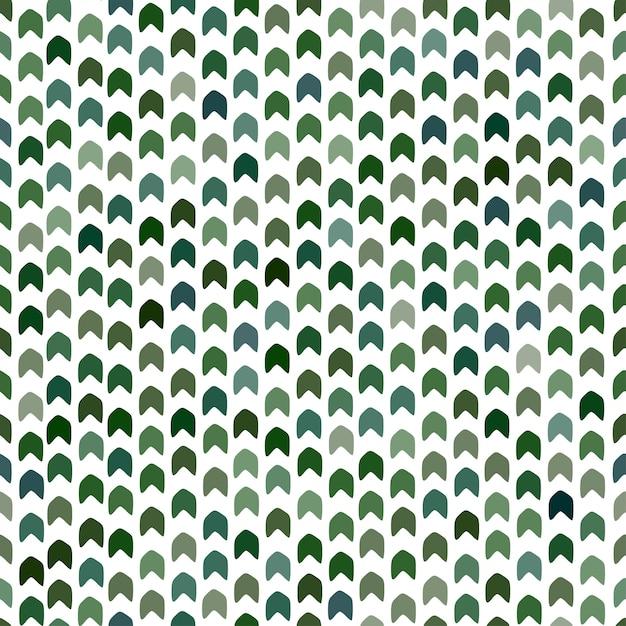 Modèle sans couture dans les couleurs vertes. imprimé camouflage moderne. motif chevron. conception géométrique kaki. Vecteur Premium