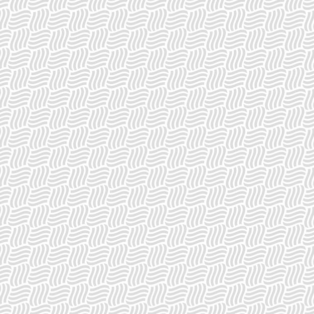 Modèle sans couture gris d'entrelacement Vecteur Premium