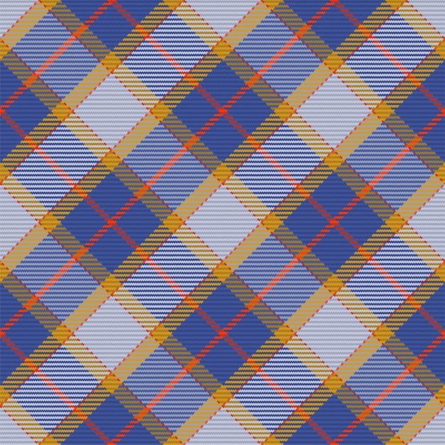 Modèle Sans Couture De Motif à Carreaux Tartan écossais Vecteur Premium