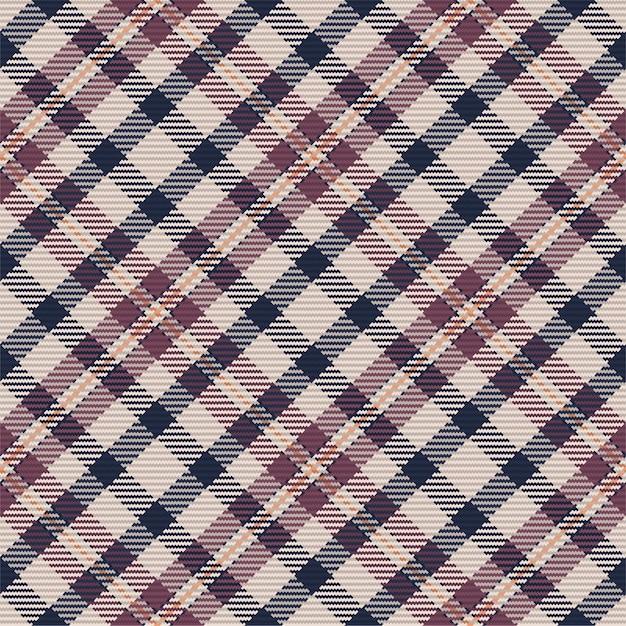 Modèle Sans Couture De Plaid Tartan écossais. Fond Répétable Avec Texture De Tissu De Contrôle. Toile De Fond De Vecteur Plat D'impression Textile à Rayures. Vecteur Premium