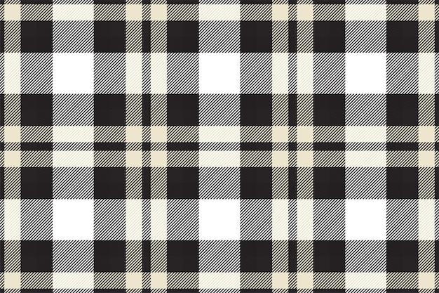 Modèle Sans Couture De Plaid Tartan écossais. Texture De Tissu à Carreaux Répétable. Vecteur Premium