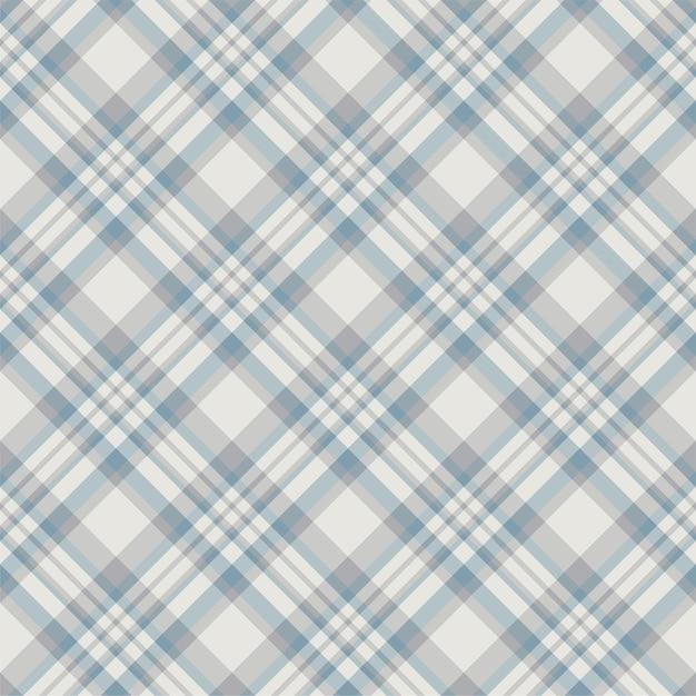 Modèle Sans Couture De Plaid Tartan écossais. Vecteur Premium