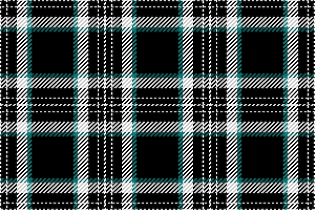 Modèle Sans Couture De Plaid Tartan écossais Vecteur Premium