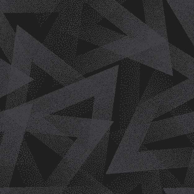 Modèle sans couture pointillé abstrait vector Vecteur Premium
