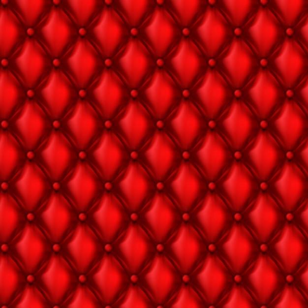 Modèle sans couture de tapisserie d'ameublement réaliste 3d Vecteur gratuit