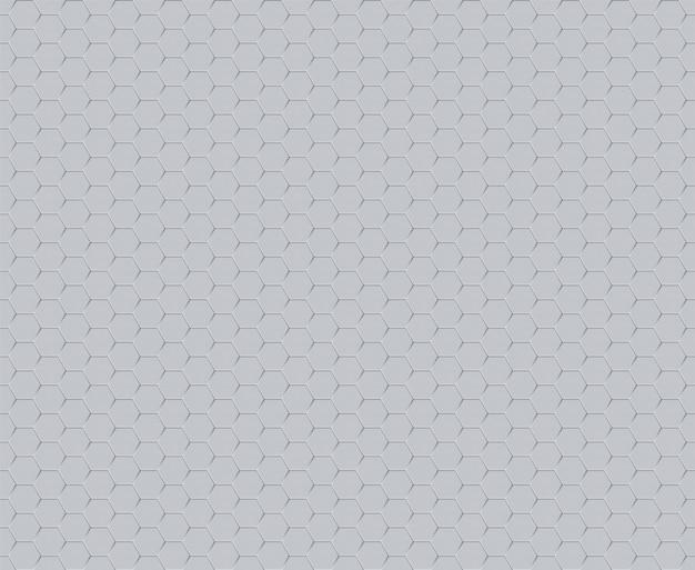 Modèle Sans Couture De Technologie Décorative Hexagone Futuriste Vecteur Premium