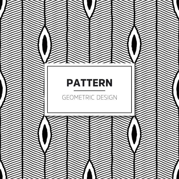 Modèle sans couture. texture élégante moderne avec des rayures ondulées. Vecteur gratuit