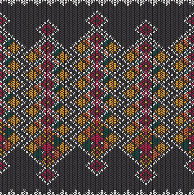 Modèle sans couture tribal aztèque abstrait Vecteur Premium