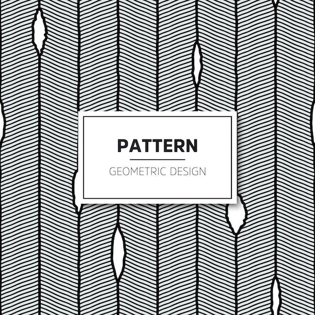 Modèle sans couture de vecteur. texture élégante moderne avec des rayures ondulées. Vecteur gratuit