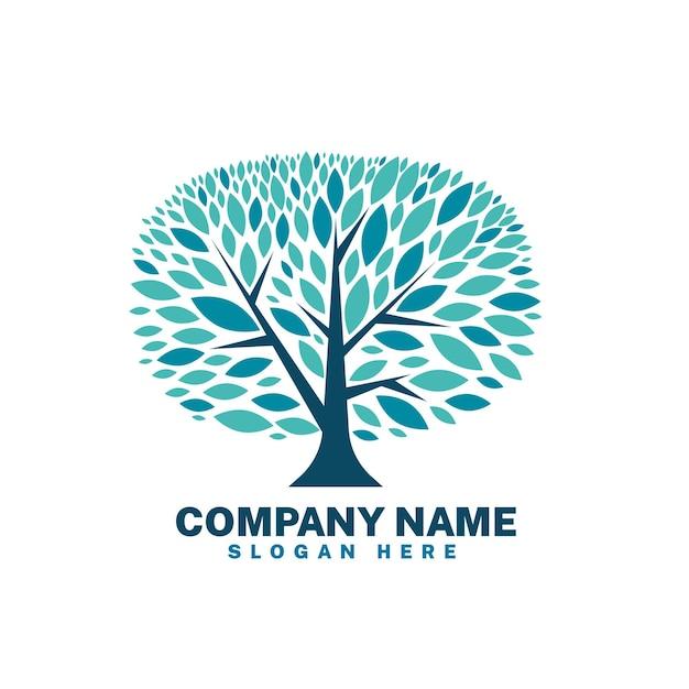 Modèle De Symbole De Logo Arbre Vie Entreprise Vecteur gratuit